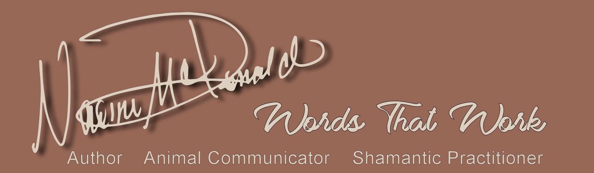 naomi mcdonald animal communicator shamantic practitioner